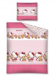 Povlečení Hello Kitty Teddy 140/200 + 70/90