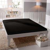 Jersey prostěradlo Premium Bed - Černé