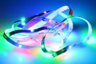 Samolepící LED pásek na baterie (100cm) 30 diod - Multi barevný