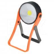 Pracovní COB LED světlo - 3W - Oranžové