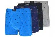 Pánské boxerky s blesky PESAIL - 1 ks, mix barev, velikost M
