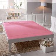 Jersey prostěradlo Premium Bed lycra DeLuxe - Růžové