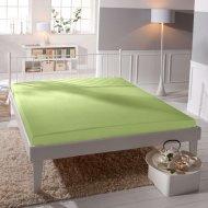 Jersey prostěradlo Premium Bed lycra DeLuxe - Světle zelené