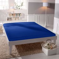 Jersey prostěradlo Premium Bed - Modré