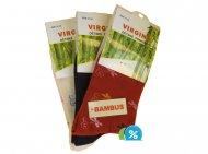 Dětské klasické bambusové ponožky Virgina HN-1012 - 4 páry, velikost 31-34