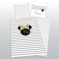 Povlečení Minnie Gold 140/200, 70/90