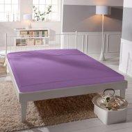 Jersey prostěradlo Premium Bed lycra DeLuxe - Světle fialové