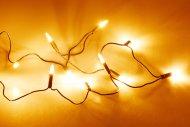 Okruhová LED světýlka do interiéru (1.1m) 10 diod - Extra teplá bílá