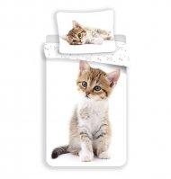 Povlečení Kitten white 140/200, 70/90
