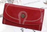 Claudia- Červená dámská peněženka