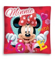 Povlak na polštářek Minnie Love micro 40/40