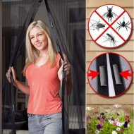 Samozatváracia sieť proti hmyzu