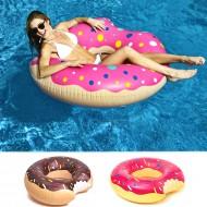 Obrovské nafukovacie koleso - XXL Donut ružový