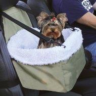 Přepravní autotaška a pelíšek pro domácí mazlíčky