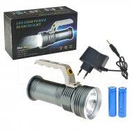 Hliníková LED svítilna s rukojetí - 800lm