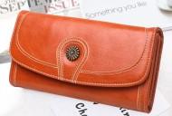 Claudia- Oranžová dámska peňaženka