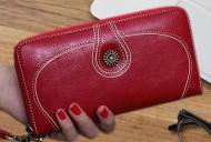 Nancy - Vínová dámská peněženka