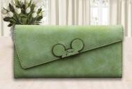 Dámská peněženka MOUSE - zelená