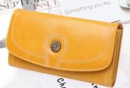Claudia- Žltá dámska peňaženka