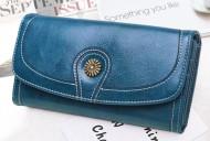 Claudia- Modrá dámská peněženka