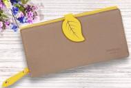 Dámská peněženka LEAF - žlutá