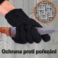 Ochranné rukavice proti pořezání - 2ks