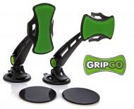 Univerzální držák pro mobilní telefony a navigace do auta GripGo - dlouhý