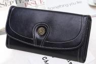 Claudia- Čierna dámska peňaženka