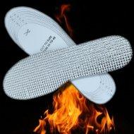 Hrejivé vložky do topánok s alu izoláciou