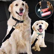 Nastaviteľný bezpečnostný pás pre psa