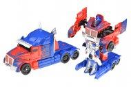 Natahovací transformační autíčko GAZELO (12cm) - Červeno modrý kamion
