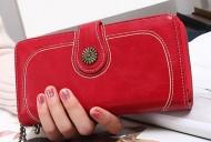 Valentino - Červená dámská peněženka