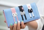 Peněženka LADY-CAT modrá