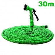 Zahradní flexi hadice zelená - Délka: 30m