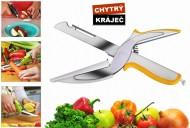 Multifunkční kuchyňský kráječ Smart Cutter 6v1 - oranžový