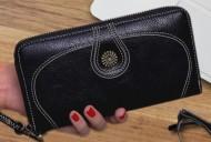 Nancy - Černá dámská peněženka