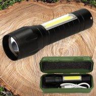 Nabíjací vrecková LED baterka TWO 450 BOX