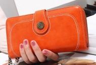 Valentino - Oranžová dámská peněženka