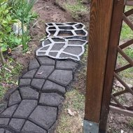 Forma na betónové chodníky - Majster dláždič 40x40 cm