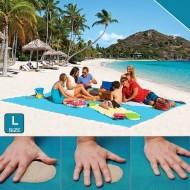 Plážová podložka - Sand Free - L modrá