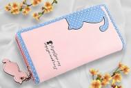 Peněženka CAT růžová