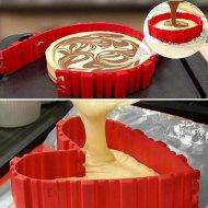 Magická tvarovací forma na pečení dortů - Silikonová