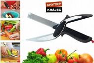 Multifunkční kuchyňský kráječ Smart Cutter - černý