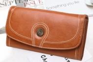 Claudia- Hnědá dámská peněženka