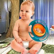 Gyro bowl - nevyklopitelná miska pre deti