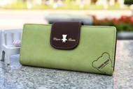 Dámská peněženka WISER BEAR - zelená