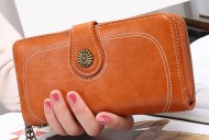Valentino - Hnědá dámská peněženka