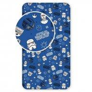 Prostěradlo Star Wars blue galaxy 90/200