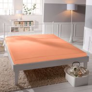 Jersey prostěradlo Premium Bed - Lososové