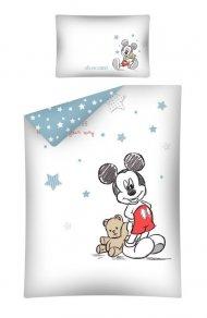 Povlečení do postýlky Mickey cute 100/135, 40/60